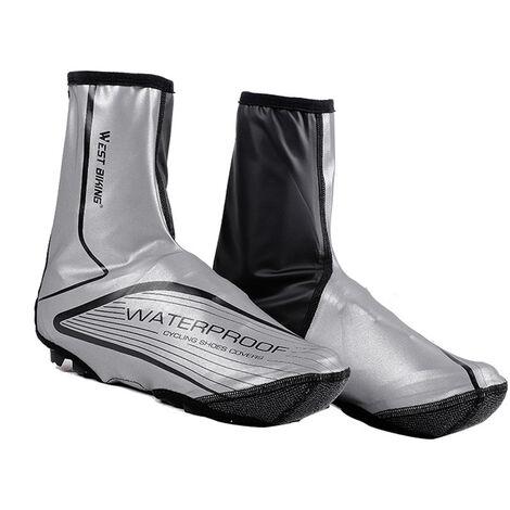 Couvre-Chaussures De Bicyclette Equipement D'Equitation Exterieur Coupe-Vent, Impermeable Et Anti-Poussiere, Taille L