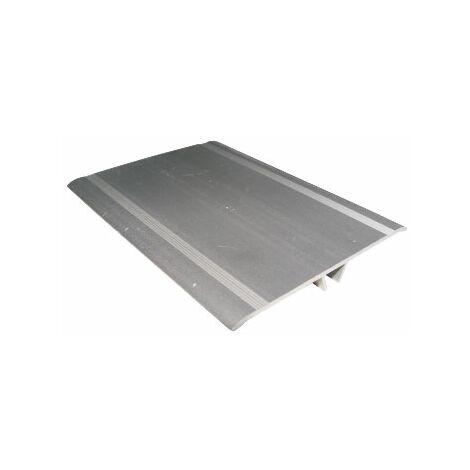 couvre joint de façade aluminium (Angle ou Plat) (3,00 ml de long + clips)
