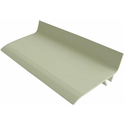 couvre joint de façade PVC (Angle ou Plat) (3,00 ml de long + clips)