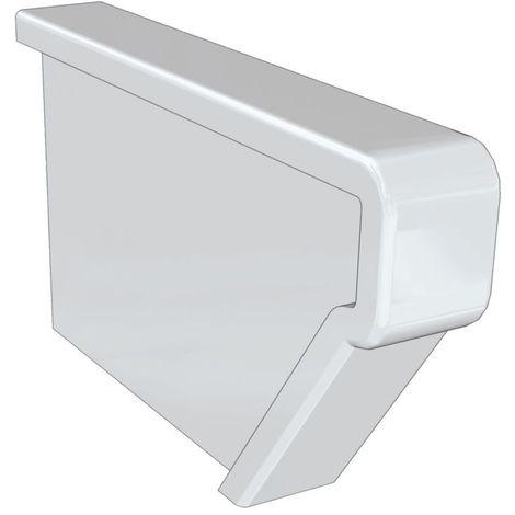 Couvre-joint lateral, lavabo GEBERIT COLLECTIF Longueur : 40 cm Ceramique Blanc, Ref.763000000