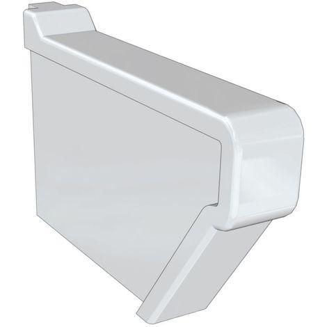 Couvre-joint lateral, lavabo GEBERIT COLLECTIF Longueur : 40 cm Ceramique Blanc, Ref.764000000