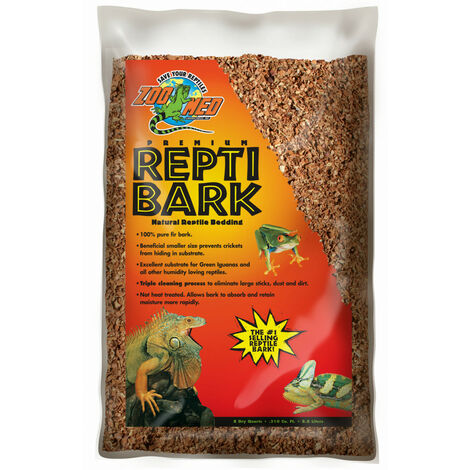 couvre sol écorce zoo med reptibark 1.6 kg pour reptile