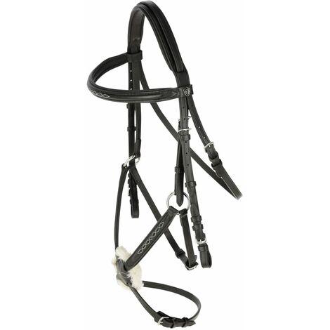 Covalliero Bridon Cancun pour poney Noir
