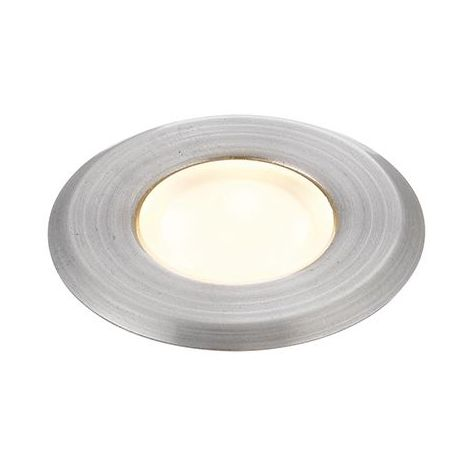 Cove Round Ip67 Warm White Recessed Light Marine Grade Brushed Stainless Steel