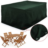 Cover For 6 to 8 Seater Garden Furniture Chair and Table Set 242 x 162 x 100 cm