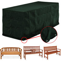 Cover For Benches 3 Seater Garden Furniture Tarpaulin 162 x 65 x 88 cm