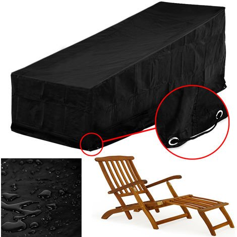 Robust cover for sun loungers large tarpaulin outdoor furniture set protection