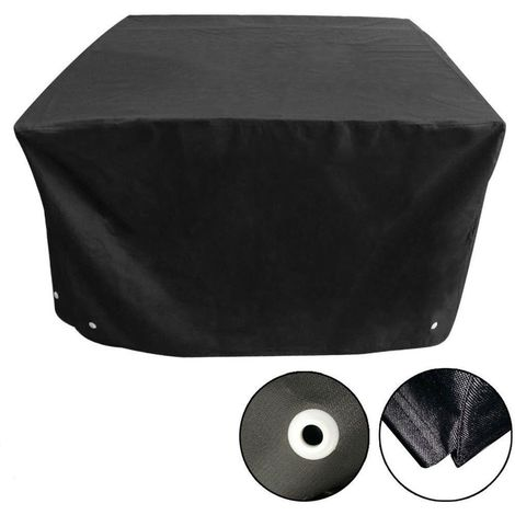 Cover For Garden Furniture Protection Waterproof Outdoor Cube 126 * 126 * 74Cm