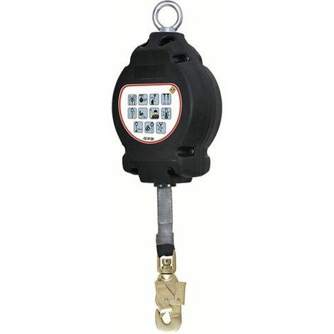 Coverguard - Anti-chute à rappel automatique sangle de 6m avec connecteur automatique en acier - MO71486 Taille:Unique