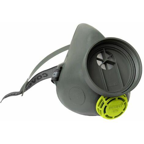 Coverguard - Demi-masque en caoutchouc EURMASK UNO - MO22101 Taille:Taille Unique