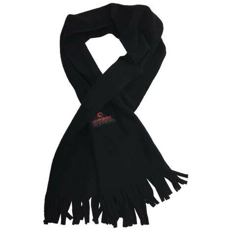 COVERGUARD fleece scarf - black