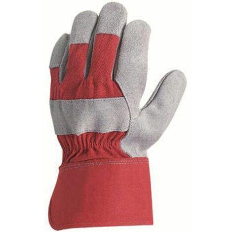 Coverguard - Gant de protection manutention docker en croûte vachette - MO152 Taille:10