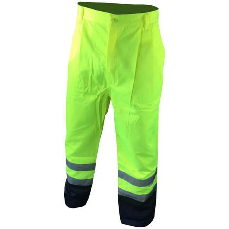 COVERGUARD Patrol High Visibility Work Pant - Fluo Yellow - XXL