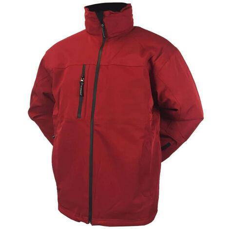 COVERGUARD yang winter parka - red - Size M