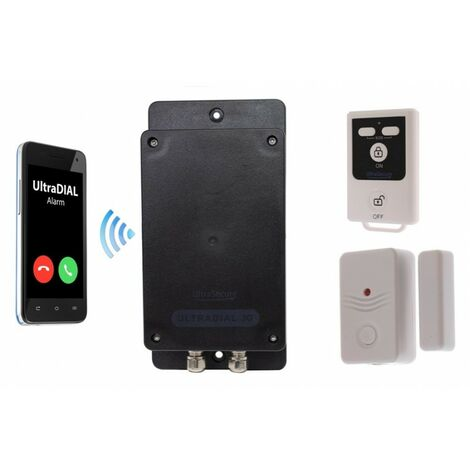 Covert Battery Silent 3G GSM UltraDIAL Door Alarm