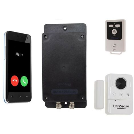 Covert Battery UltraDIAL 3G GSM Door Alarm Dialler (silent or with siren)