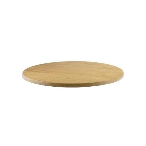 Cowley Round Oak Table Top