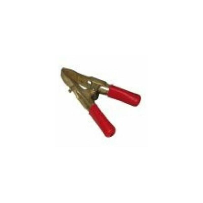 Pince bronze + 500mm² rouge - 132015 - CPC