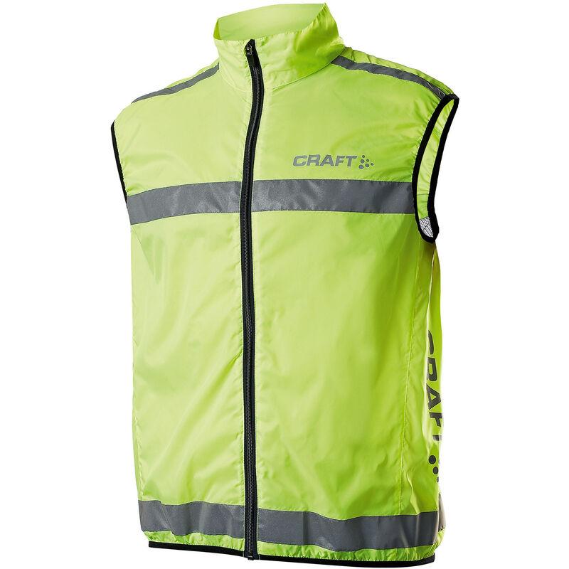 Image of Active Run Hi-Vis Safety Vest / Safetywear (L) (Neon) - Craft