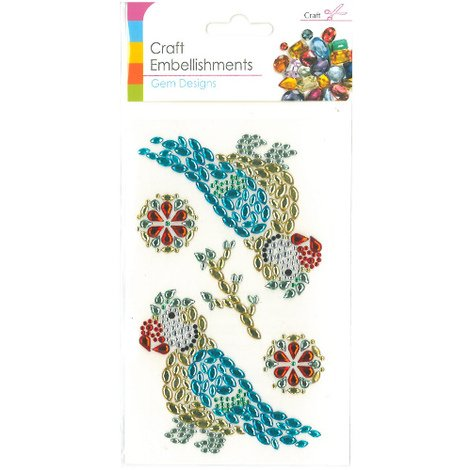 Craft Adhesive Gem Embellishment Exotic