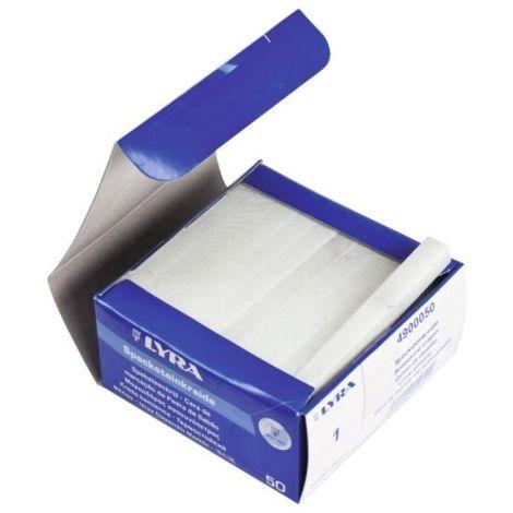 Craie de briancon, coloris blanc, boîte de 50 pièces
