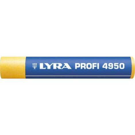 Craie grasse universelle 4950, coloris jaune, boîte de 12 pièces - Jaune - Jaune