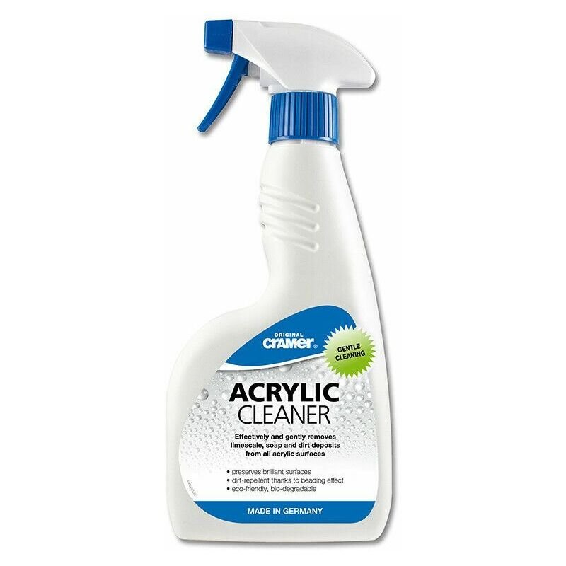Image of Acrylic Cleaner Spray 750ml Eco-friendly Dirt-repellent Beading Effect - Cramer