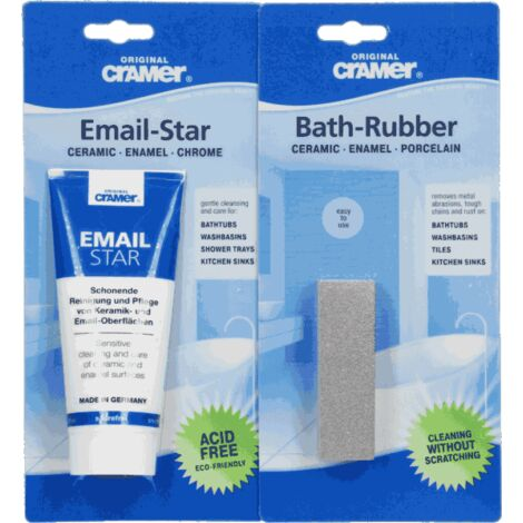 Bath Rubber Crammer Enamel Ceramic Removes Basin Tile Metal Water Scuff Marks