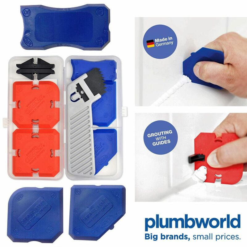 Image of Cramer Fugi 5 Piece Grouting & Silicone Profiling & Applicator Tool Kit in Box