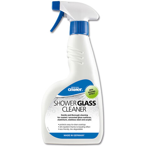 Cramer Glass Aluminium Stainless Steel Acrylic Cleaner Spray 750ml Eco Friendly