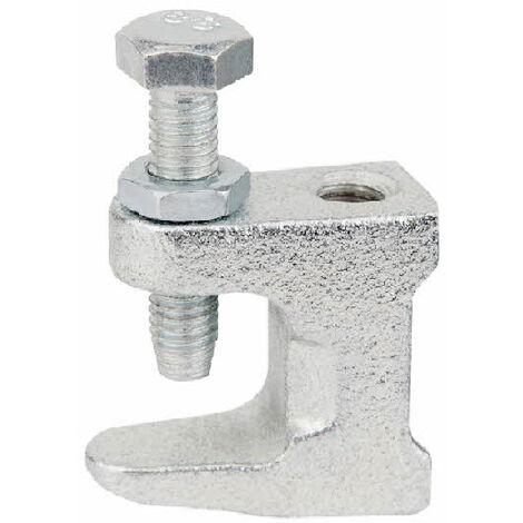 Crampon de fixation Débouchant pour fixation rapide sur IPN et poutre métalique - Boite de 50