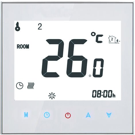¨¦cran tactile LCD de contr?leur de temp¨¦rature programmable