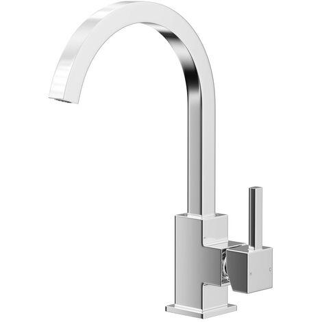 "main image of ""Crane Polished Chrome Kitchen Sink Mixer Tap"""