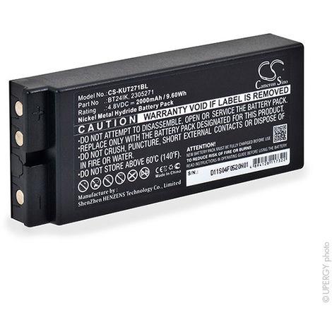 Crane remote control battery for Hiab 4.8V 2000mAh - 2305271,BT24IK,BT20K