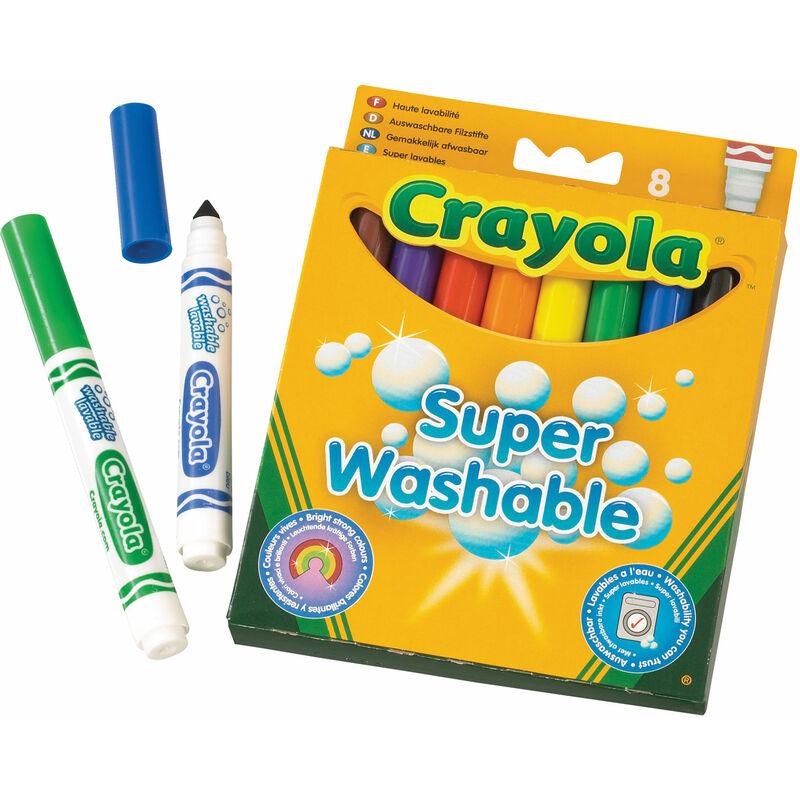 Image of 8 Washable Markers - Crayola