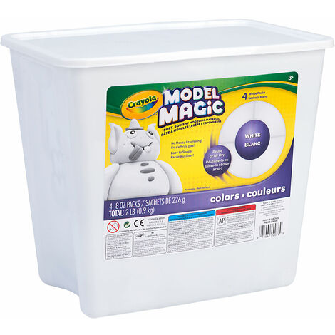 Crayola Model Magic - White 2lb
