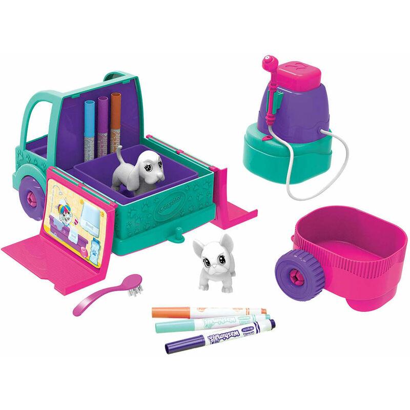Image of Play Spa Car Washimals - Multicolour - Crayola