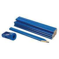 Crayon de charpentier - 12 pièces - 1 taille crayon