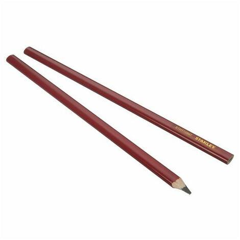 Crayon de charpentier 30cm (x2) STHT0-72997 STANLEY