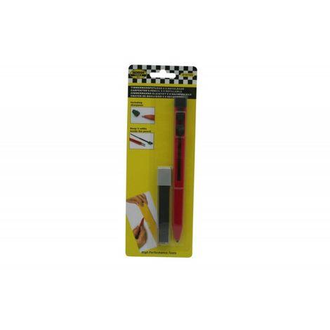 Crayon de charpentier 9 x rechargeable