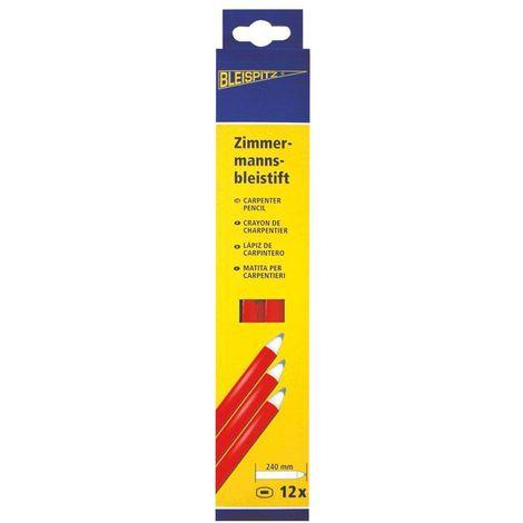 Crayon de charpentier, Lot de 12