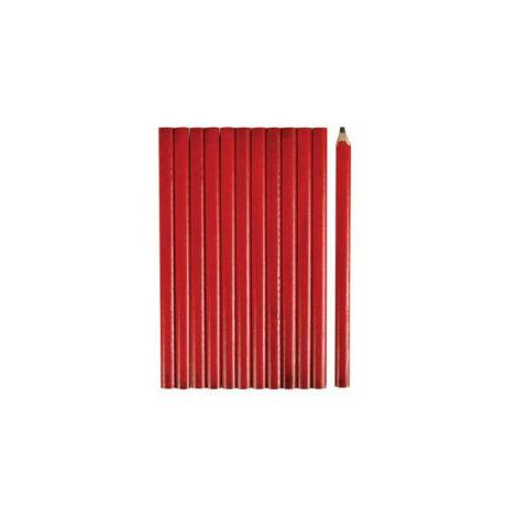 """main image of """"Crayon de Menuisier 175Mm - Lot de 12 - 1901-x12 - Perel"""""""