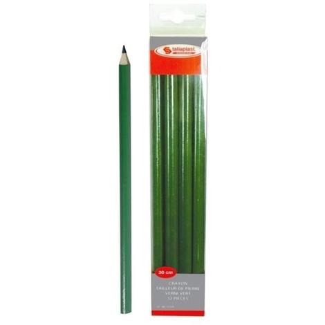 Crayon de tailleur de pierre vert 30 cm TALIAPLAST
