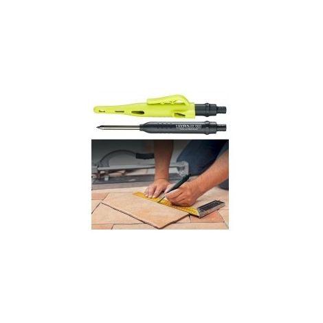 Crayon graphite lyra dry profi désignation box de 20 crayons lyra dry profi + 8 étuis de 12 mines graphite 2b + 4 étuis de 12