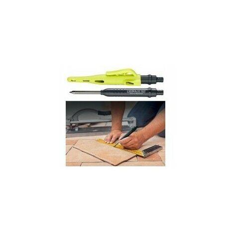 Crayon graphite Lyra Dry Profi + étui 12 mines graphite 2B