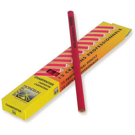 Crayon rouge de charpentier - Mob/Mondelin