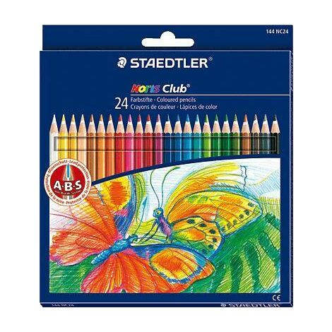 Crayons de couleur Staedtler Noris Club 24/144 NC24 24 Y10881