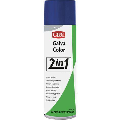 Peinture anti-corrosion GALVACOLOR avec double effet bleu signalisation RAL 5005 CRC GALVACOLOR 32079-AA 500 ml S229591