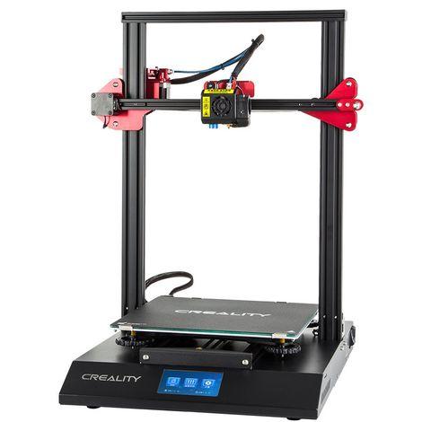 Creality 3D CR-10S Pro DIY Pantalla táctil LCD Impresora 3D 300x300x400mm Stock Francia Hasaki