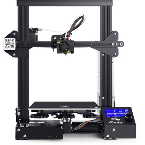 Creality Ender-3 Imprimante 3D V-Slot Prusa I3 DIY Kit MK-10 Extrudeuse 220X220X250mm